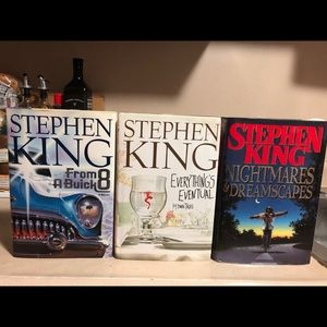 Stephen King 3 Book Lot